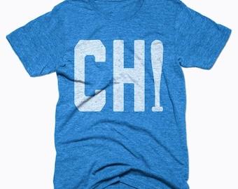 SUNDAY SALE Chicago Cubs Shirt - Chicago Baseball - Chicago Shirt - Men's Unisex Sizing - Vintage Print -