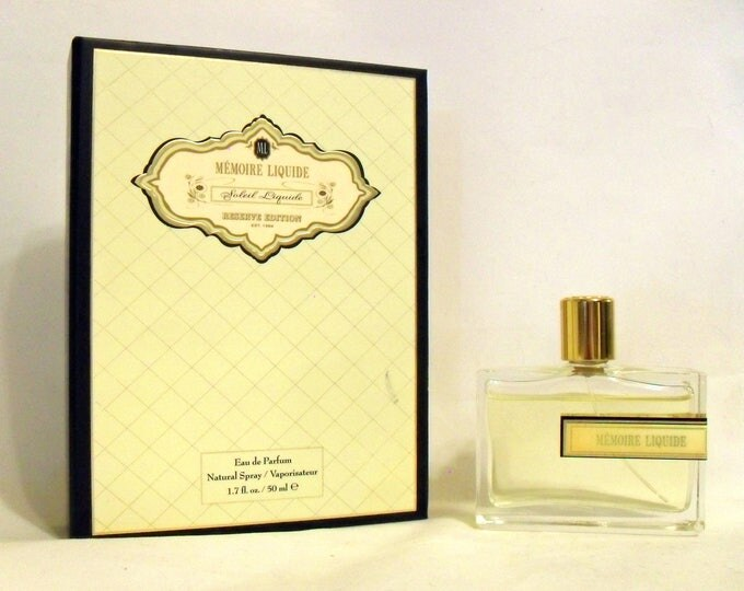 Soleil Liquide by Memoire Liquide 1.7 oz Eau de Parfum Spray in Box RARE NICHE PERFUME
