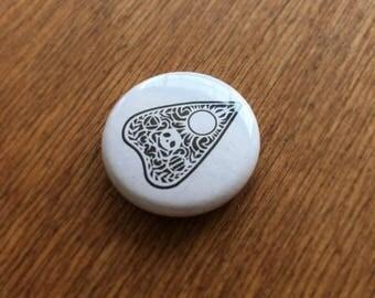 Ouija Planchette Button