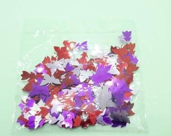 Butterfly Confetti, Tulip confetti, DESTASH, red, pink and purple shaped confetti, unopened confetti