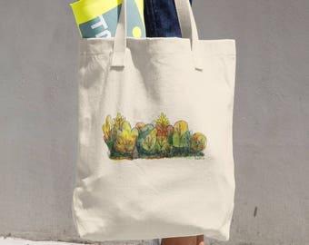 Autumn Woods Cotton Tote Bag