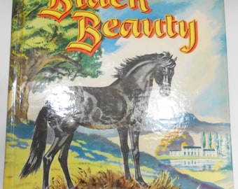 Vintage 1955 Copyright, Black Beauty by Anna Sewell