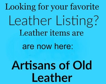 New Store Notice, Leather Headpiece, Leather Headband, Kings Crown, Black Leather, Burning Man, Renaissance, Pagan Ritual