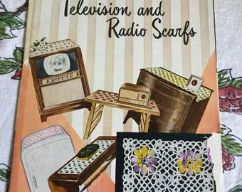 15 Pages-Television and Radio Scarf Booklet-Reading/Craft/Identify/Pattern