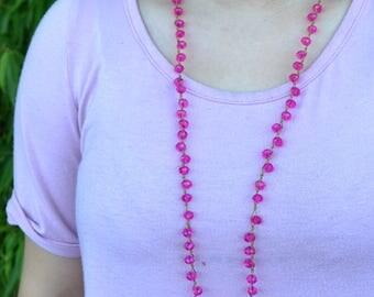 """SALE 17"""" Peyton   Hot Pink"""