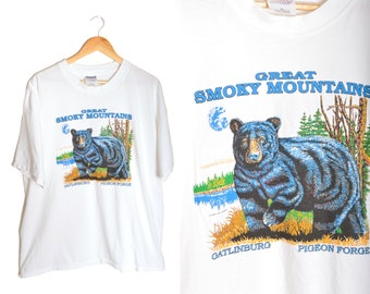 Pigeon forge shirt etsy smoky mountains t shirt grizzly bear unisex xxl pigeon forge gatlinburg parks hiking climbing publicscrutiny Image collections