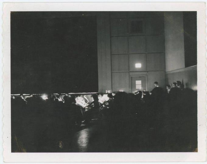 Vintage Polaroid Snapshot Photo: Orchestra Pit [82652]
