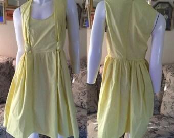 CARVEN Gathered Dress Size: 8