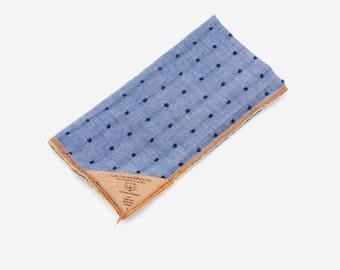 Clean Swedish Dot Pocket Square