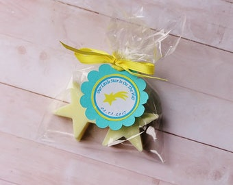 20 Star Soaps/It's a boy/It's a girl / Baby shower favors / Star favors/Birthday favors/Promotion soap favors/Thank you favors