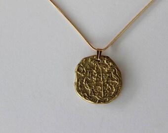 Escudo Doubloon Coin Necklace