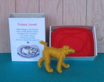 Puppy Love - Little Dog in Bed in a box