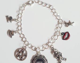 Normal People Scare me Charm Bracelet