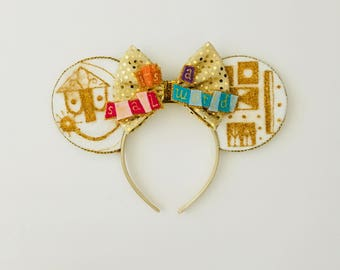 it's a small world! Inspired Minnie Mouse Ears