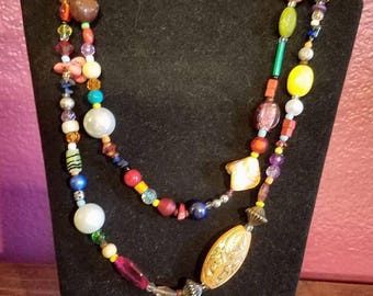 Colorful Wrap Necklace