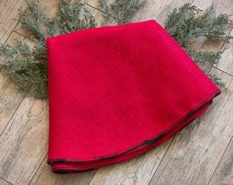 christmas tree skirt buffalo check tree skirt large 60 tree skirt farmhouse - Large Christmas Tree Skirts