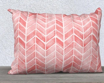 Boho Baby Decor, Blush Lumbar, Blush Arrow Print, Tribal Pillow, Blush Throw Pillow, Blush Pillow cover, Blush Nursery Pillow, Kids Boho