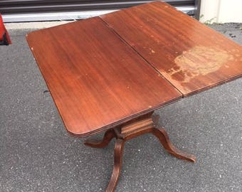 50's Lyre game table...Local pick up