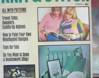 Woman's Day Knit & Stitch Winter 1973