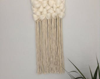 Medium Wall Hanging with Roving