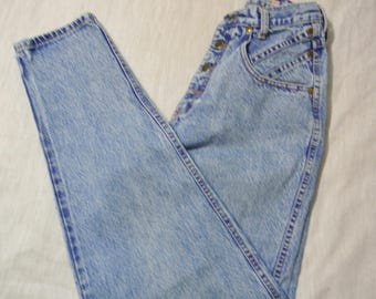 Vintage 80s 90s Ladies Juniors Zena Jeans High Waisted Tapered Leg Mom Jeans