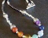Chakra Necklace- Natural Gemstones
