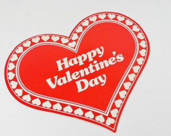 Valentine die cut   Etsy