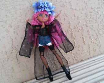 Ever After Kimono, Goth Doll Outfit for Monster Bratz Barbie Dolls