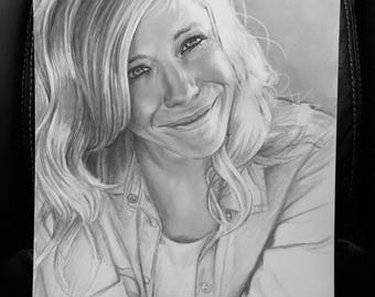 Original Drawing of Ellie Holcomb (NOT a print)