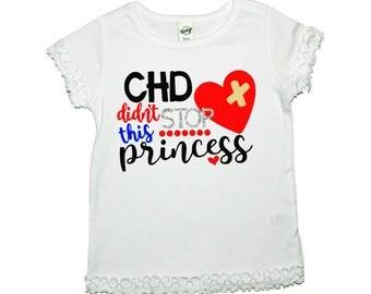 Chd Awareness, Chd warrior, Chd Princess, Chd Shirt, CHD, CHD Survivor Shirt, Chd Warrior Shirt, Heart Warrior, Hlhs, Awareness Shirt