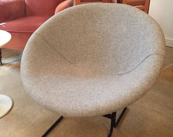 Vintage Mid Century Chair Newly Upholstered