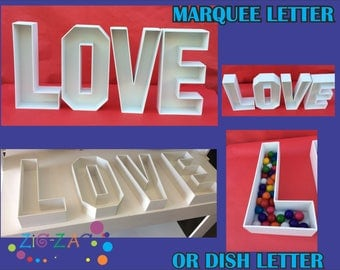 LOVE Marquee letters, dish letters, deco letters for weddings, birthdays , letters deco