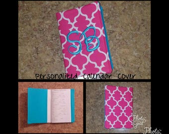 Personalized 2017 Monogrammed Calendar Covers
