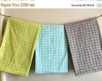 ON SALE DESTASH Sale Michael Miller Backyard Baby Snake Skin Fabric in Gray, Blue or Green by the Yard or Half Yard