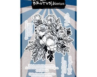 ON SALE Brutus Monroe Clear Stamp Set - Conservatory of Quotes