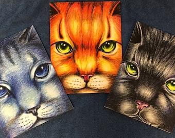 Warriors Cats Notebook Journal Firestar Bluestar Hollyleaf Back to School