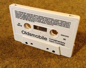 1985 Oldsmobile Complimentary Cassette Mix Tape - Promotional - Memorabilia Music