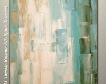 """4th of July sale Original Abstract Painting on Gallery wrapped Canvas 24"""" x 30"""", Home Decor, Wall Art by Tomoko Koyama"""