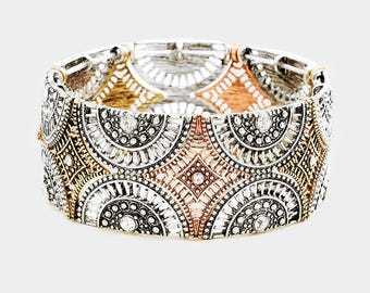 Vintage Look Fashion Bracelet