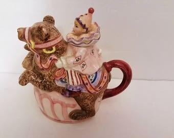 "Schmid Y. Yamada ""Be A Clown"" Musical Teapot"