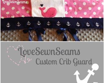 Custom crib guard/CRIB GUARD