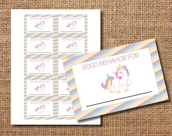 Good Behavior Tickets, Positive Behavior Tickets, Reward Chart for Kids, Reward Chart Printable File, Behavior Chart, Tickets for Kids, DIY