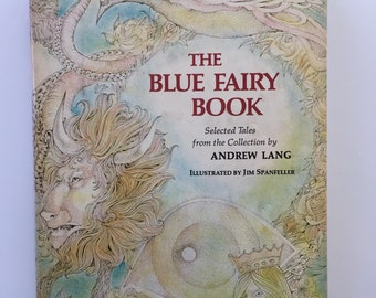 Blue Fairy Book, Hardcover, Dust Jacket, Great Condition, Illustrated, Child Classics