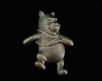 Rare Vintage Disney Winnie the Pooh Articulated Brooch (Tier 1)