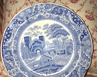 French Country Toile Spode Blue Room Collection Lucano