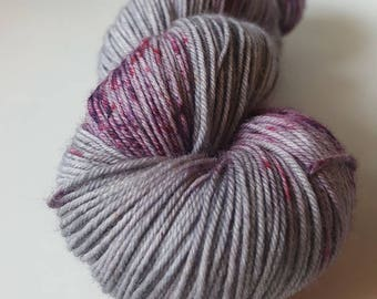 TO order - skein of Superwash Merino / Nylon - hand - dyed Fingering / Sock - Andromeda color