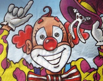 """Clown"" towel"