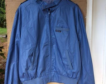 80's VTG Blue Members Only Jacket, Sz 44 - Md/Small