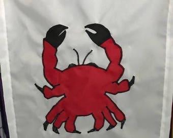 Crab Ocean / Beach / Seashore Garden Mini Flag