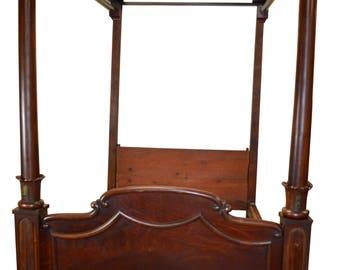 18241 Civil War Era Canopy Bed